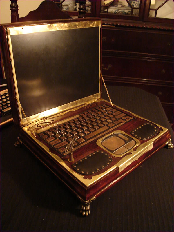 Amazing Steampunk Laptop Gadizmocom