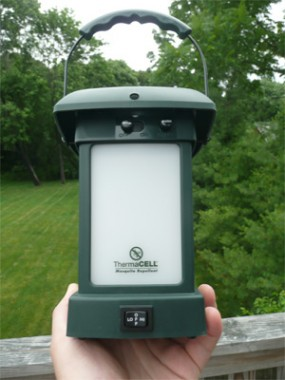 ThermaCELL Lantern Repels Mosquitoes   Gadizmo.com