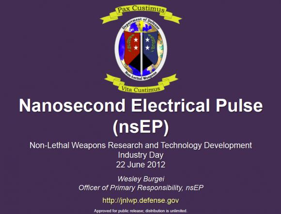 Pentagon Develops Easy Capture Nano-second Electrical Pulse