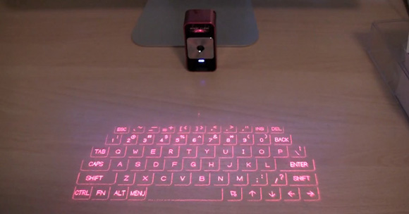 Celluon Magic Cube Laser Projection Keyboard For IPhones IPads