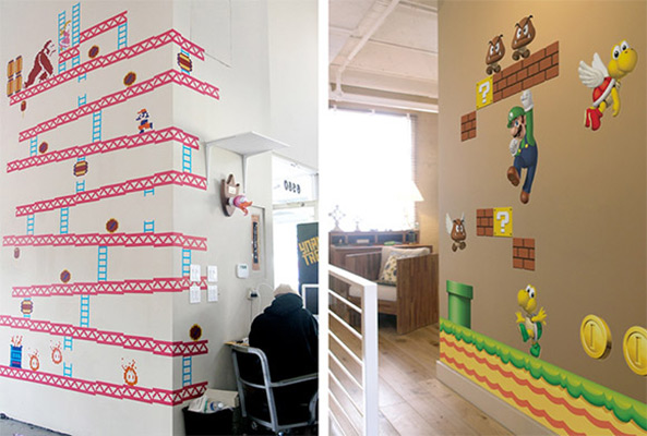 Geek Weekly Blik Wall Decals Recreate Super Mario Bros