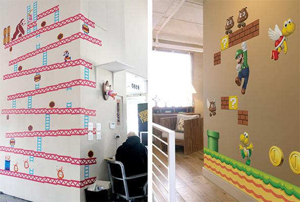 Geek Weekly: Blik Wall Decals Recreate Super Mario Bros ...