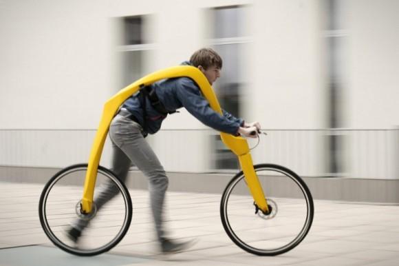 Fliz Bike Powered By Awkward Walking