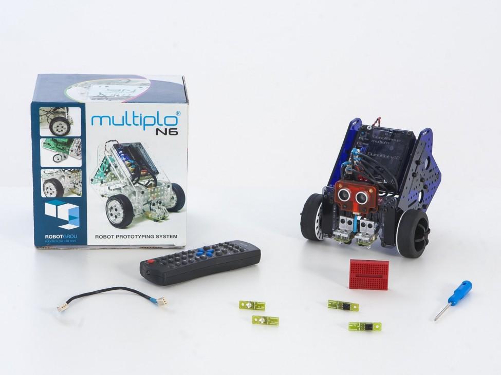 Anyone can Create a Robot: Kickstarter Multiplo BOT