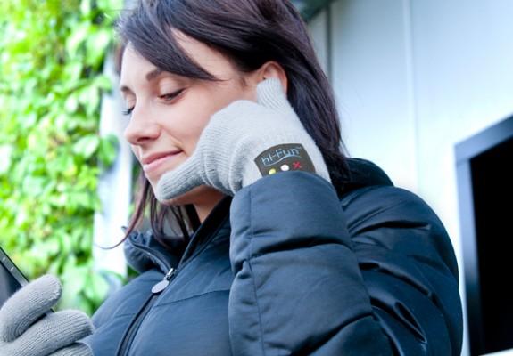 hi call phone glove