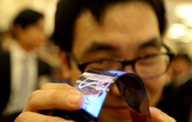 Samsung flexible AMOLED display