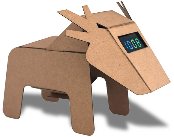 deer-clock
