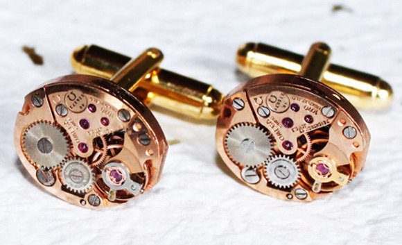 steampunk-watch-movement-cufflinks