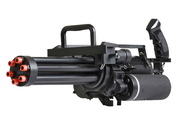 The Echo1 M134 Gatling Style Airsoft Gun Will Shoot Your ...