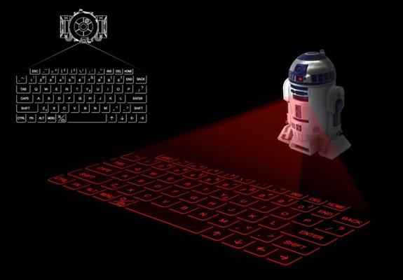 r2d2-projection-keyboard