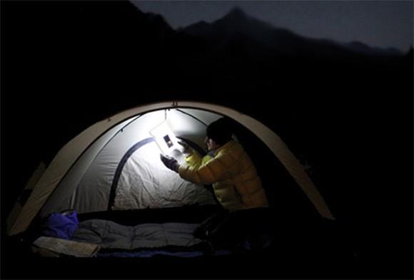 luminAID-in-tent