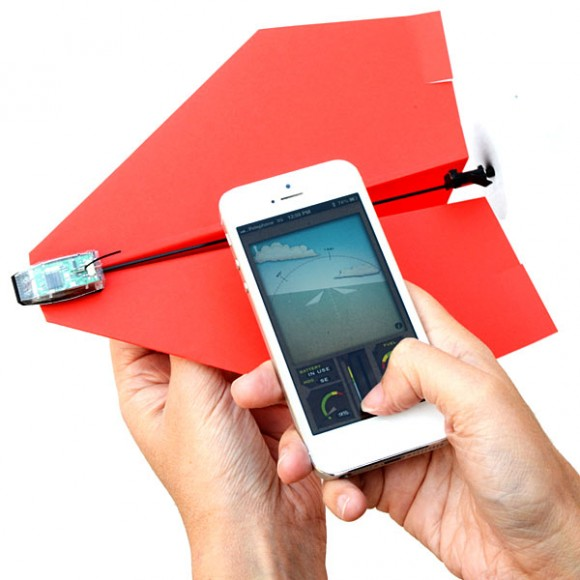 Smartphone-Controlled-Paper-Airplane-App