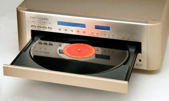 ELP-Laser-Turntable-open