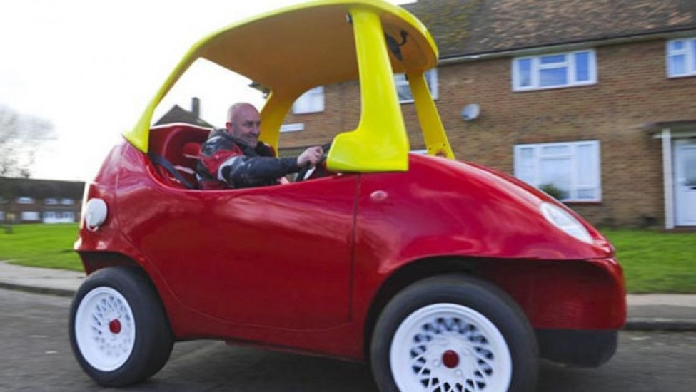"""How Much Is A Car Paint Job >> The Most Expensive """"Little Tikes"""" Toy Car Has Some Serious Motor Power - Gadizmo.com"""