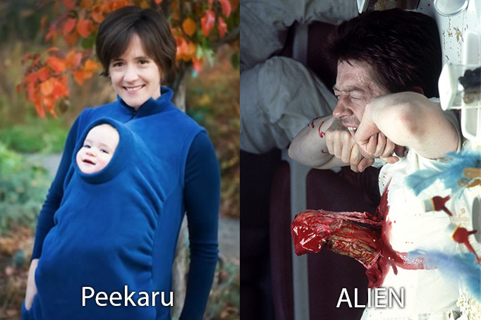 peekaru-vs-ALIEN