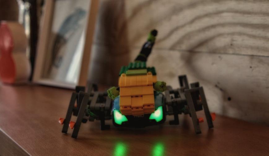 Phiro-scorpion