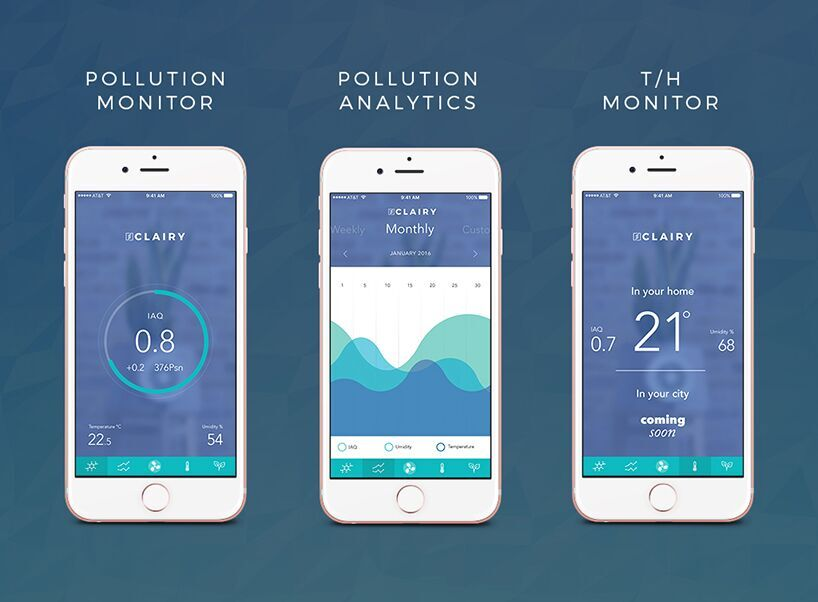 clairy-app-interface