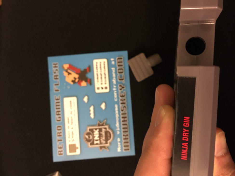 NES Classic: Ninja Gaiden Dry-Gin Flask, Warp Shots & Opener