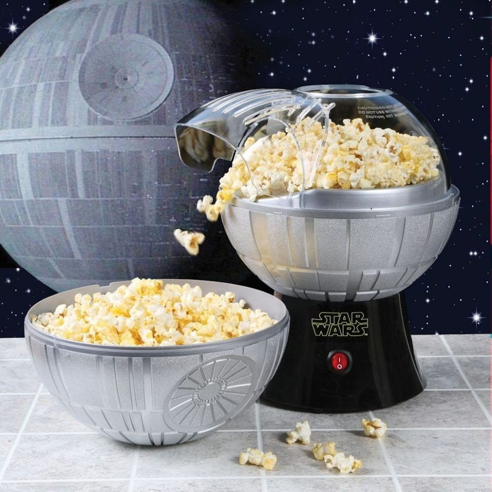 Star Wars Rogue One Death Star Popcorn Maker, geek weekly, gadizmo, geek, star wars, rogue one