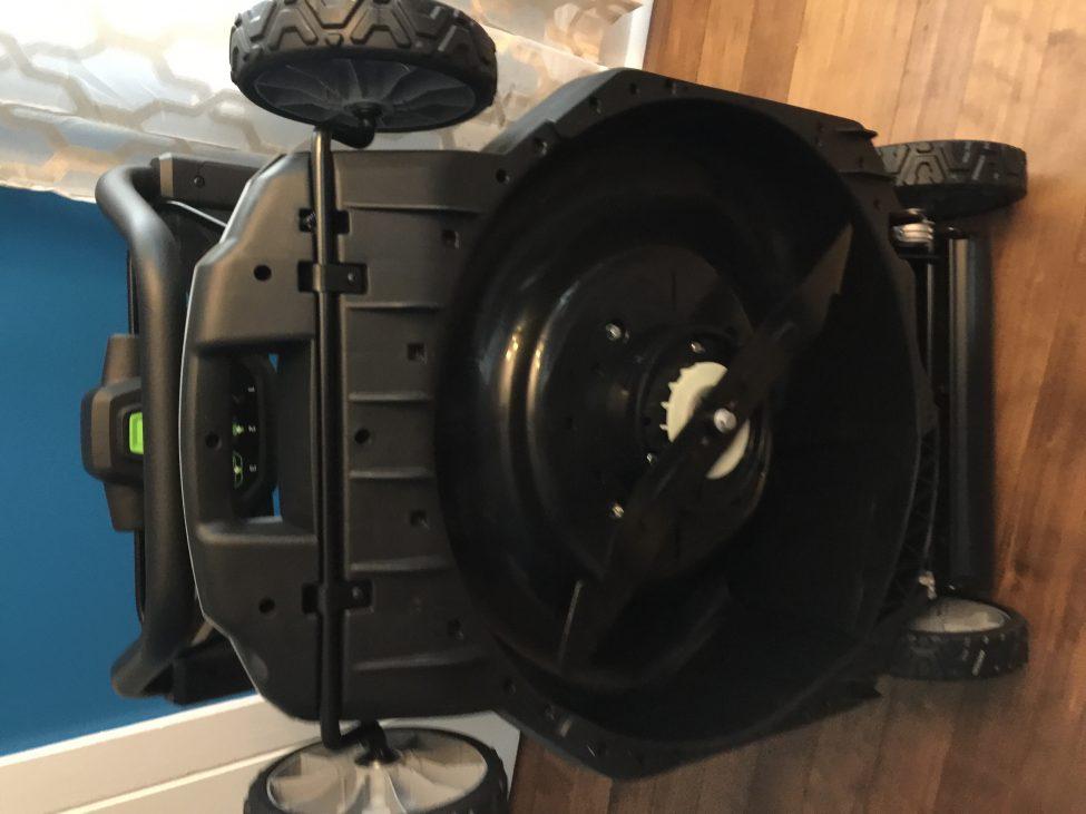 Tesla Day! Go Ego Battery Self Propelled Mower