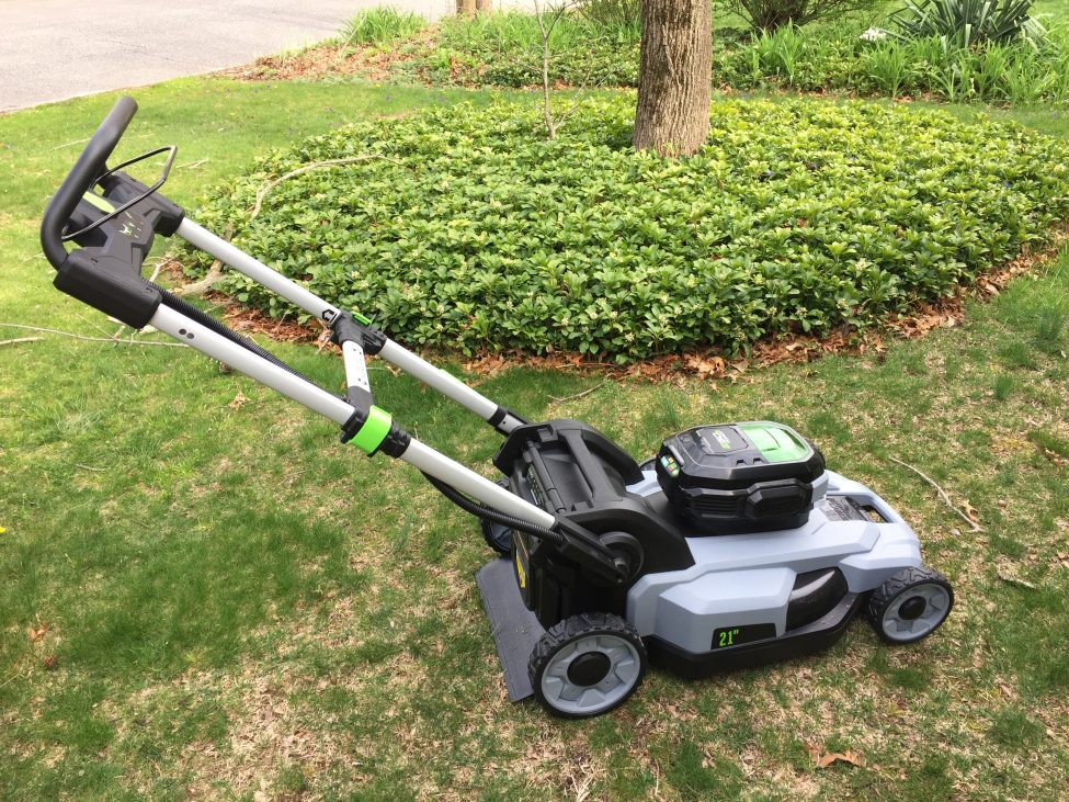 Tesla Day! Go Ego Battery Self Propelled Mower