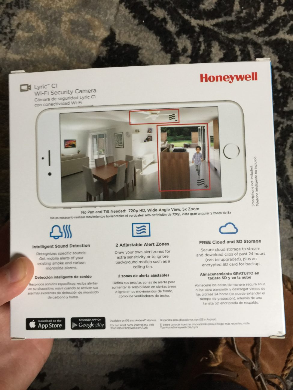 Hands On Review: Honeywell Lyric C1 Wi-Fi Security Camera, Hands On Review, Honeywell Lyric C1, Wi-Fi Security Camera, Security Camera, camera, security, IoT, smart home, wi-fi