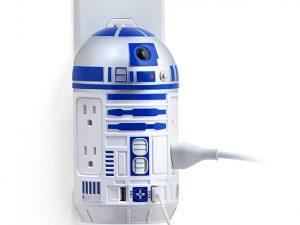 ThinkGeek, Geek Weekly, Star Wars R2-D2 AC / USB Power Station, Black Friday, AC power, USB, R2-D2