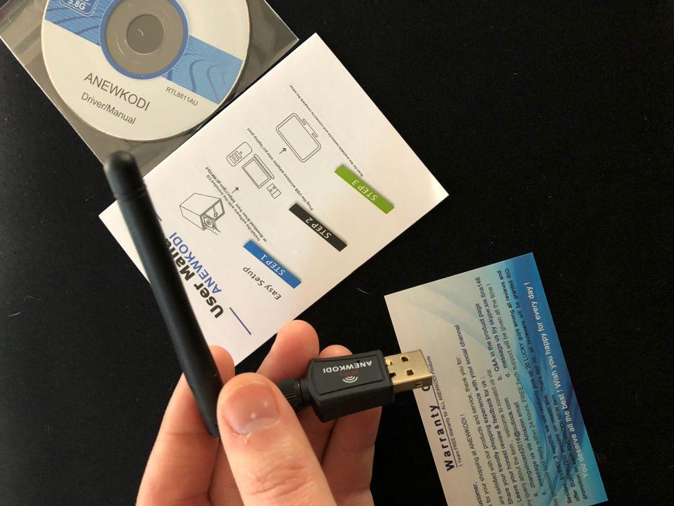 ANEWKODI 600Mbps USB WiFi Adapter, WiFi adapter, USB Wi-Fi adapter, amazon