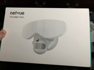 Netvue Smart LED Floodlight Camera, IoT, Home Security, ring, nest, amazon