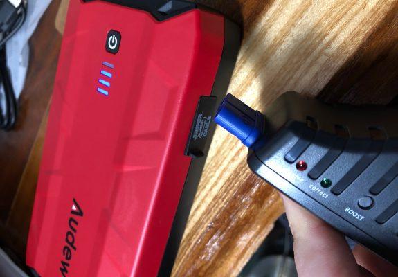 Black Friday, Audew 12V Car Jump Starter Power Bank Set, Audew