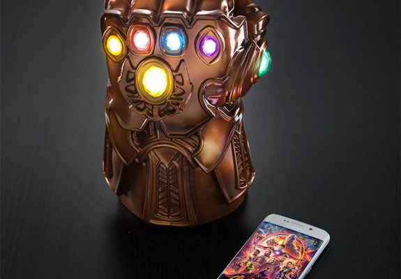 Marvel Thanos Gauntlet Mood Lamp, avengers, avengers endgame, endgame, infinity war, marvel, thanos