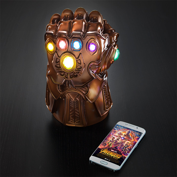 Marvel Thanos Gauntlet Mood Lamp, avengers, avengers endgame, endgame, infinity war, marvel, thanos