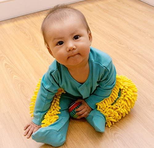 baby mop, baby mop onesie, baby, toddler, kids, irobot