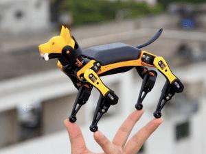 DIY, AI, Robot, bot, Petoi Bittle, kickstarter, ai robot, DARPA