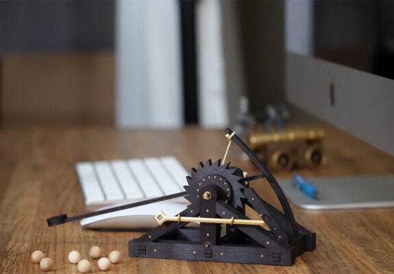Desktop Leonardo Da Vinci Catapults, Leonardo Da Vinci, D&D, dungeons & dragons