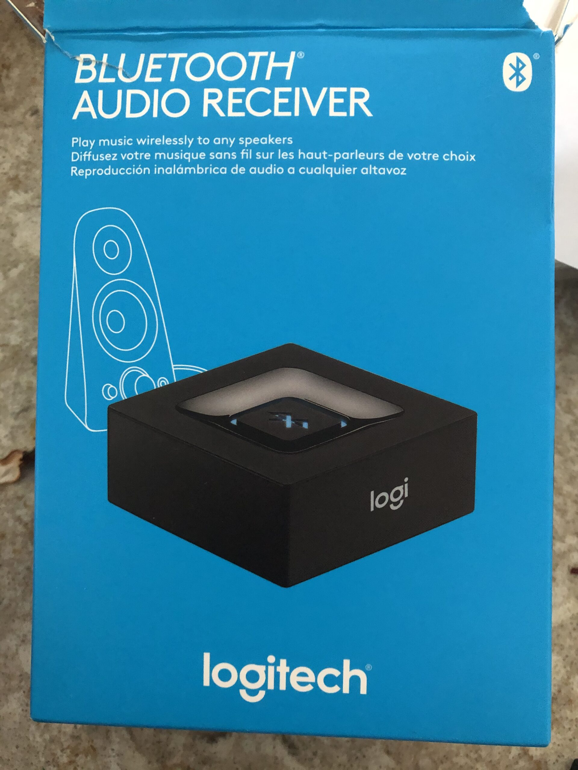 Logitech Bluetooth Audio Adapter, Logitech, Bluetooth